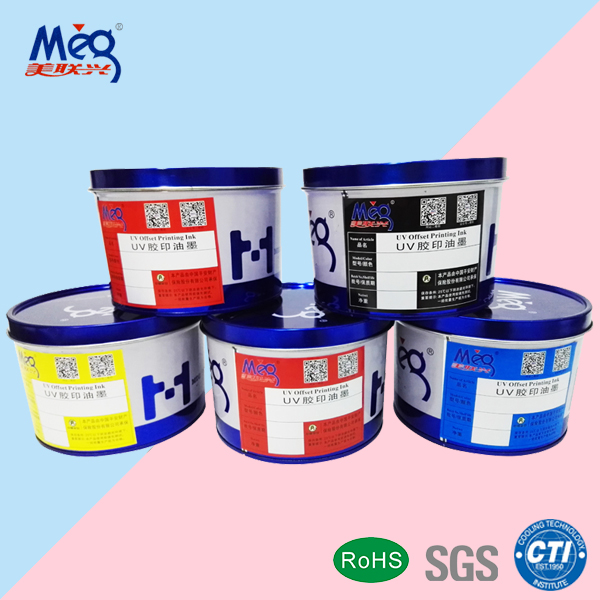 LED-UV Offset Printing Ink